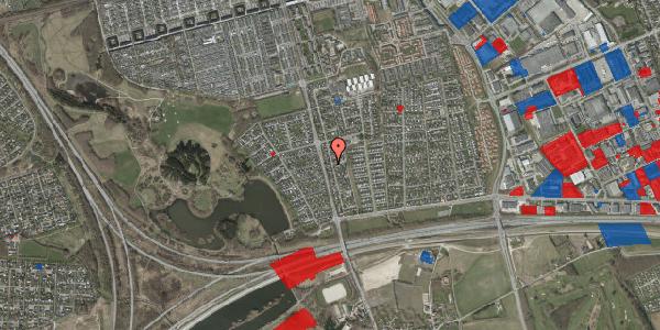 Jordforureningskort på Pilehavevænge 14, 2625 Vallensbæk