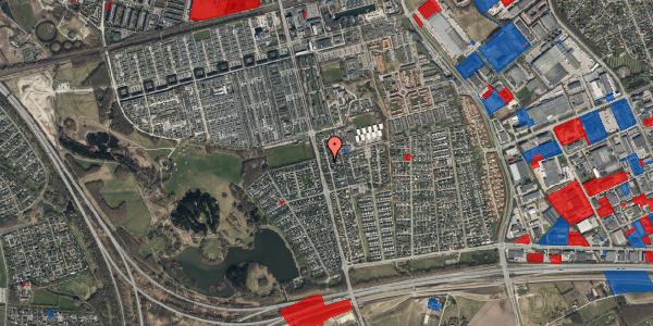 Jordforureningskort på Pilehavevænge 15, 2625 Vallensbæk