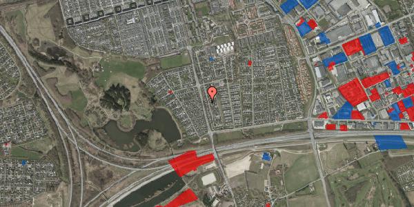 Jordforureningskort på Pilehavevænge 18, 2625 Vallensbæk