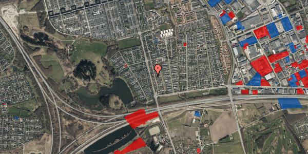 Jordforureningskort på Pilehavevænge 22, 2625 Vallensbæk