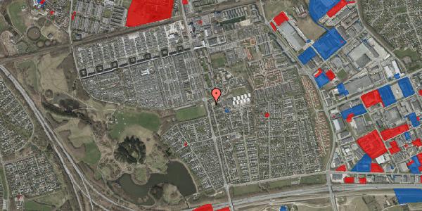 Jordforureningskort på Pilehavevænge 27, 2625 Vallensbæk