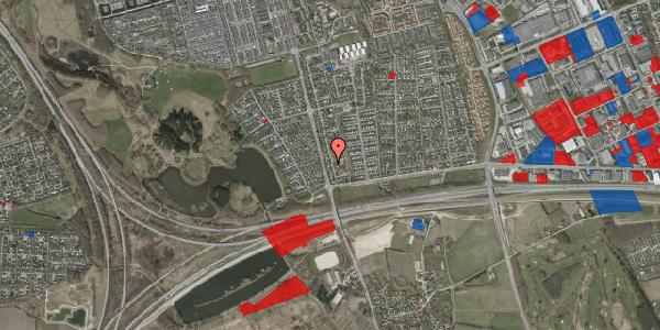 Jordforureningskort på Pilehavevænge 34, 2625 Vallensbæk