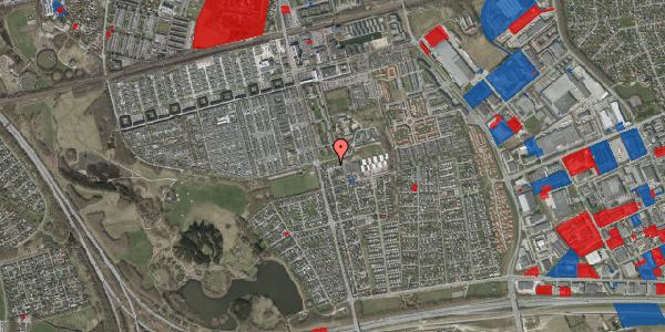 Jordforureningskort på Pilehavevænge 35, 2625 Vallensbæk