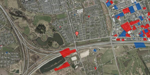 Jordforureningskort på Pilehavevænge 36, 2625 Vallensbæk