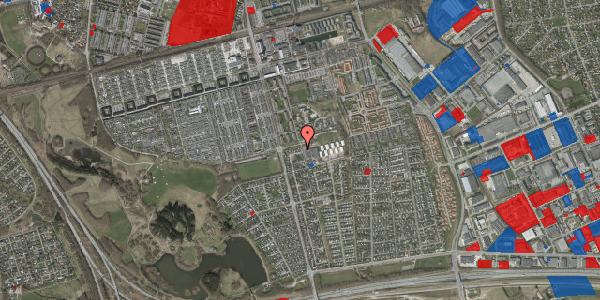 Jordforureningskort på Pilehavevænge 39, 2625 Vallensbæk