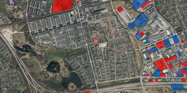 Jordforureningskort på Pilehavevænge 41, 2625 Vallensbæk