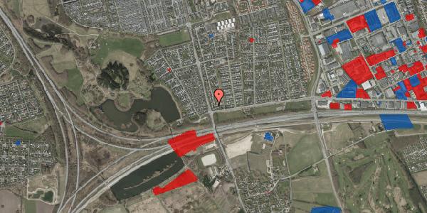 Jordforureningskort på Pilehavevænge 42, 2625 Vallensbæk