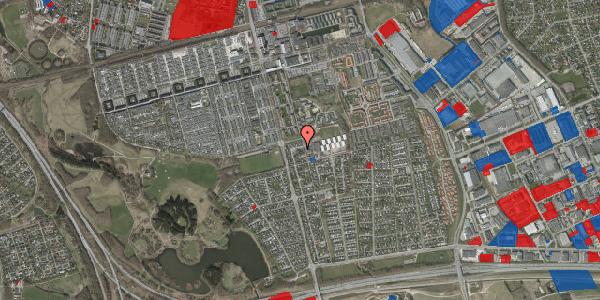 Jordforureningskort på Pilehavevænge 43, 2625 Vallensbæk