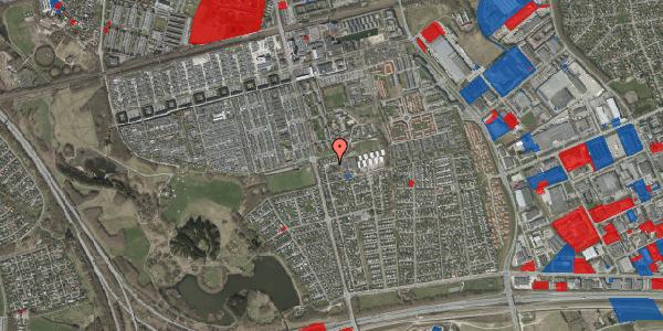 Jordforureningskort på Pilehavevænge 45, 2625 Vallensbæk