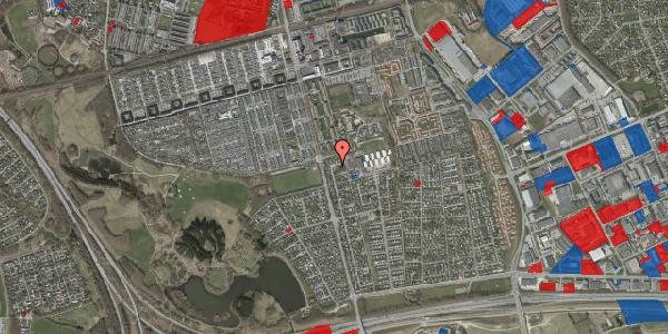 Jordforureningskort på Pilehavevænge 47, 2625 Vallensbæk