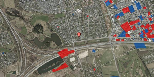 Jordforureningskort på Pilehavevænge 54, 2625 Vallensbæk