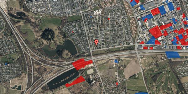 Jordforureningskort på Pilehavevænge 58, 2625 Vallensbæk