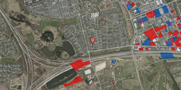 Jordforureningskort på Pilehavevænge 64, 2625 Vallensbæk