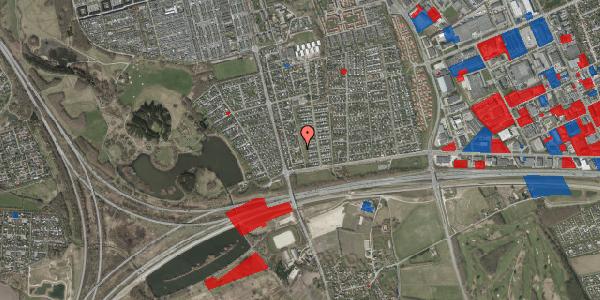 Jordforureningskort på Pilehavevænge 68, 2625 Vallensbæk