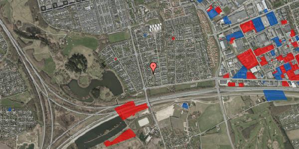 Jordforureningskort på Pilehavevænge 72, 2625 Vallensbæk