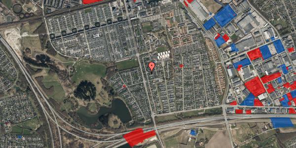 Jordforureningskort på Pilehavevænge 81, 2625 Vallensbæk