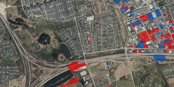Jordforureningskort på Pilehavevænge 84, 2625 Vallensbæk