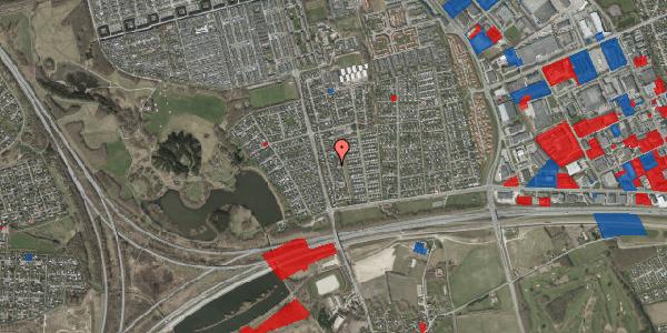 Jordforureningskort på Pilehavevænge 90, 2625 Vallensbæk