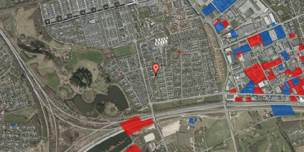 Jordforureningskort på Pilehavevænge 104, 2625 Vallensbæk