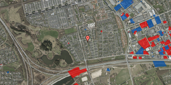 Jordforureningskort på Pilehavevænge 114, 2625 Vallensbæk