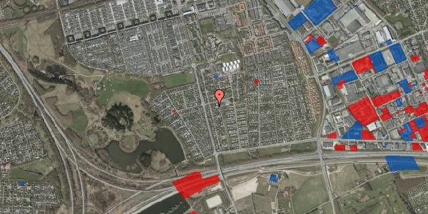 Jordforureningskort på Pilehavevænge 122, 2625 Vallensbæk