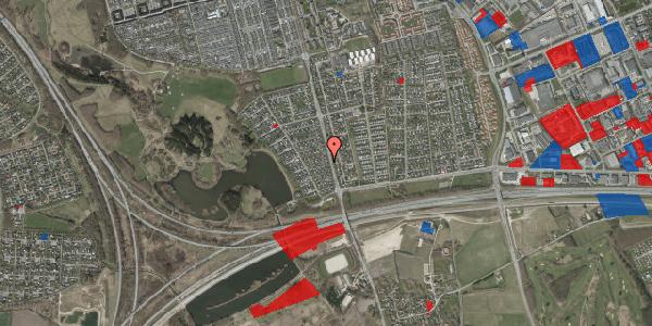 Jordforureningskort på Rendsagervej 54, 2625 Vallensbæk
