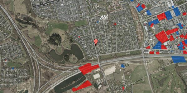 Jordforureningskort på Rendsagervej 56, 2625 Vallensbæk