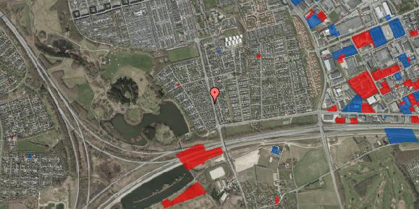 Jordforureningskort på Rendsagervej 58, 2625 Vallensbæk