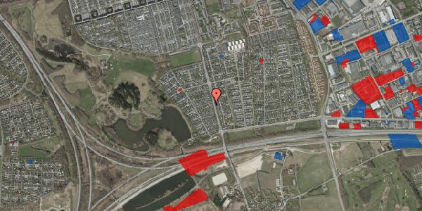 Jordforureningskort på Rendsagervej 84, 2625 Vallensbæk