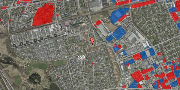 Jordforureningskort på Rosenlunden 1, 2625 Vallensbæk