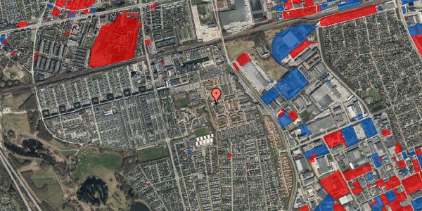 Jordforureningskort på Rosenlunden 41, 2625 Vallensbæk