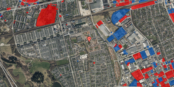 Jordforureningskort på Rosenlunden 47, 2625 Vallensbæk