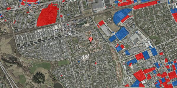 Jordforureningskort på Rosenlunden 49, 2625 Vallensbæk