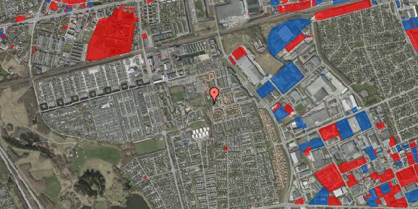 Jordforureningskort på Rosenlunden 54, 2625 Vallensbæk