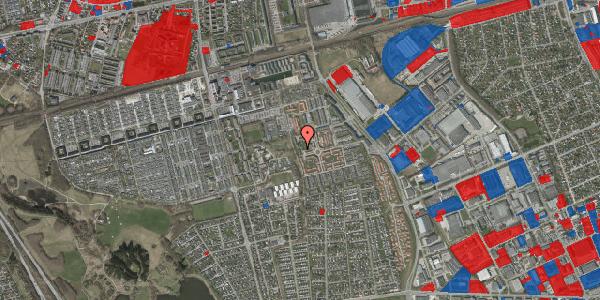 Jordforureningskort på Rosenlunden 55, 2625 Vallensbæk