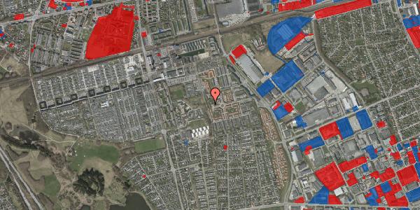 Jordforureningskort på Rosenlunden 58, 2625 Vallensbæk