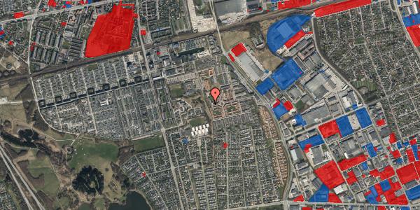 Jordforureningskort på Rosenlunden 62, 2625 Vallensbæk