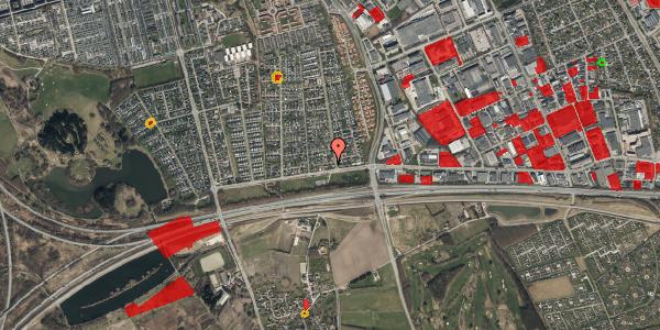Jordforureningskort på Syvhøjvænge 3, 2625 Vallensbæk
