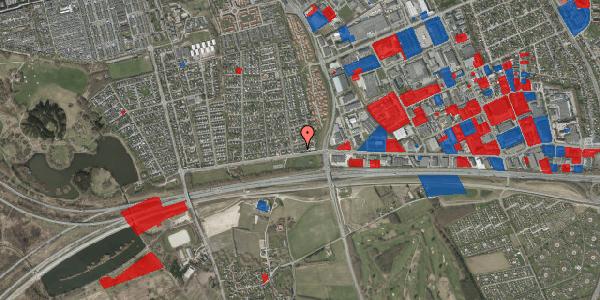 Jordforureningskort på Syvhøjvænge 6, 2625 Vallensbæk