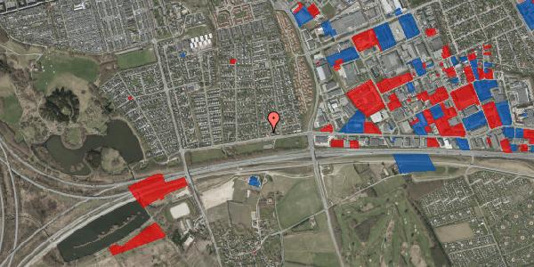 Jordforureningskort på Syvhøjvænge 9, 2625 Vallensbæk