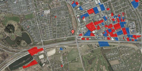 Jordforureningskort på Syvhøjvænge 12, 2625 Vallensbæk
