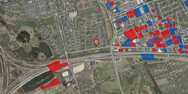 Jordforureningskort på Syvhøjvænge 13, 2625 Vallensbæk