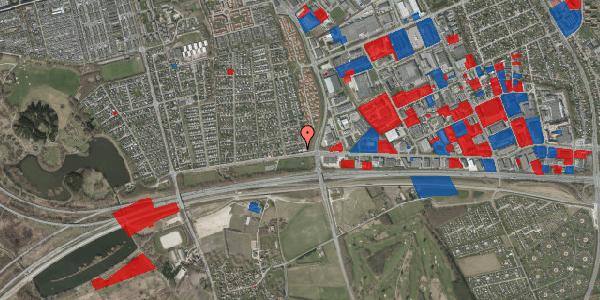 Jordforureningskort på Syvhøjvænge 14, 2625 Vallensbæk