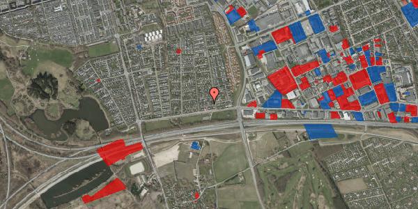 Jordforureningskort på Syvhøjvænge 23, 2625 Vallensbæk