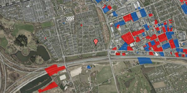 Jordforureningskort på Syvhøjvænge 35, 2625 Vallensbæk