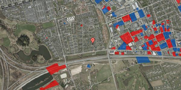 Jordforureningskort på Syvhøjvænge 43, 2625 Vallensbæk