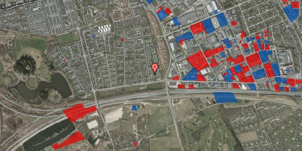 Jordforureningskort på Syvhøjvænge 46, 2625 Vallensbæk