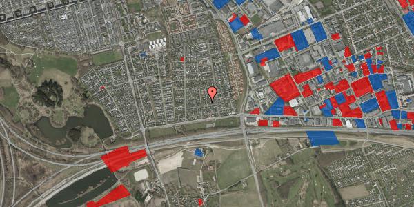 Jordforureningskort på Syvhøjvænge 47, 2625 Vallensbæk