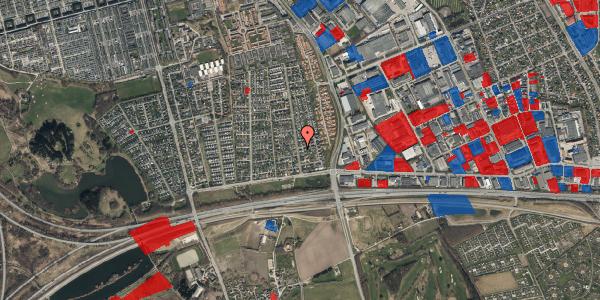 Jordforureningskort på Syvhøjvænge 48, 2625 Vallensbæk