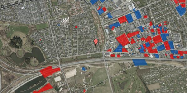 Jordforureningskort på Syvhøjvænge 50, 2625 Vallensbæk